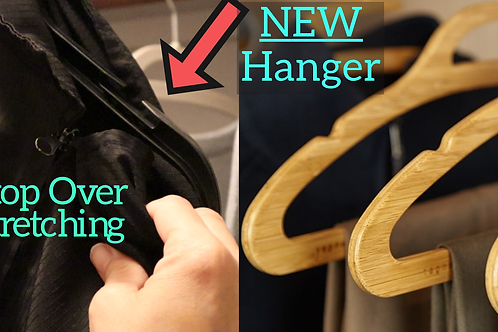 No stretching! Mozu Hanger - Read Ad