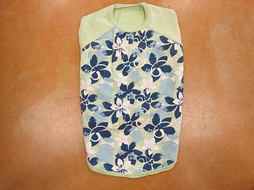 XL Green Floral Towel Material Shirt