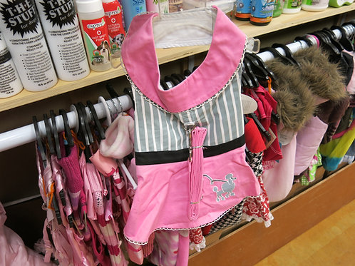 Large Pink Poodle Skirt Dress Set