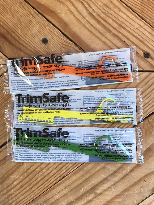TrimSafe razor with safety slits - READ Description