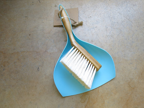 Bamboo broom and or dust pan
