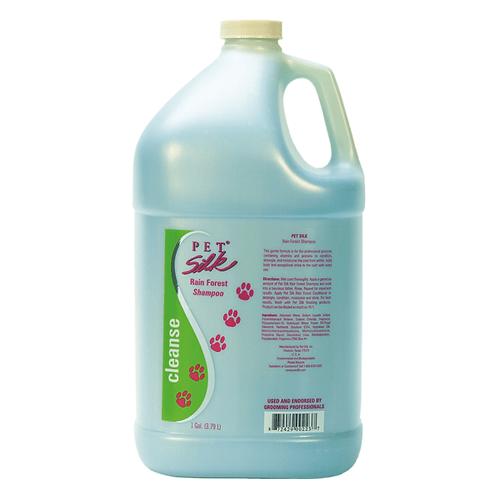 Pet Silk Rainforest Shampoo Gallon - PETSILK