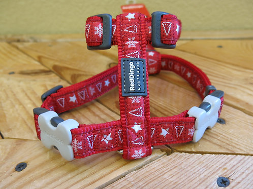 20mm Large Harness Red Christmas -dd