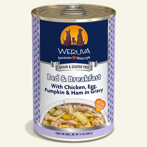 Bed and breakfast dog food 14oz