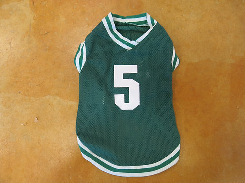 "Small Green Mesh ""5"" shirt"