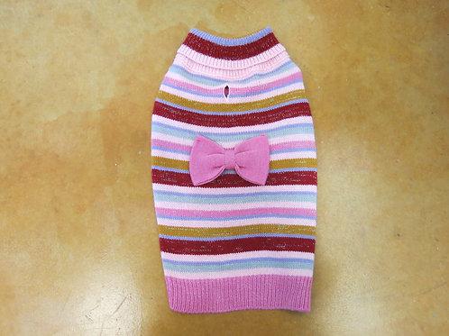 MEDIUM Pink Knit Sweater