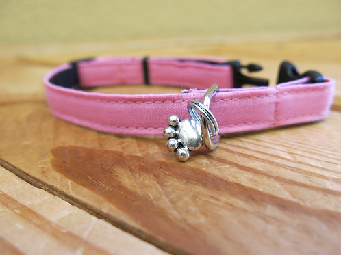 Small Cloth Collar with Charm