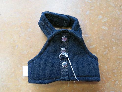 Teacup Black Harness