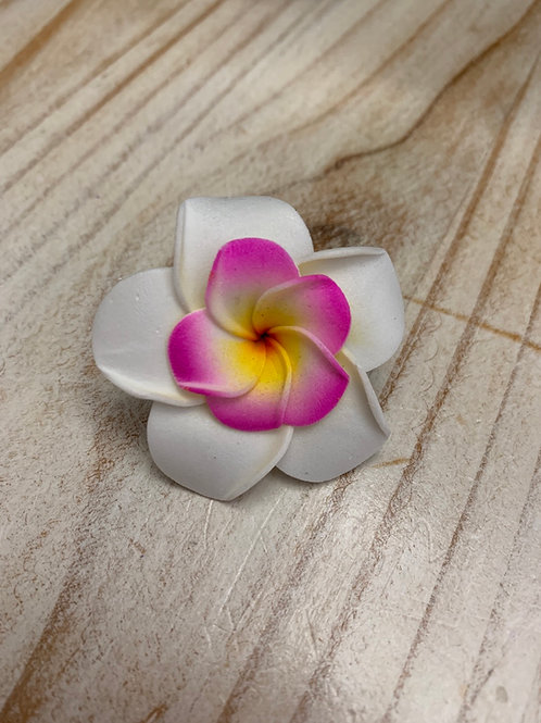 Tiny Hair Flower - Double Purple Inner