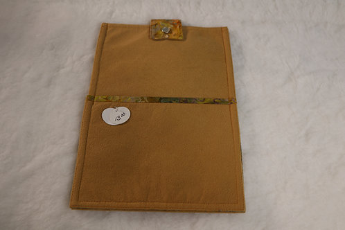 Small Tan Tye Tablet Case