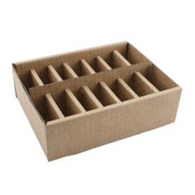 Clipper blade box organizer with lid