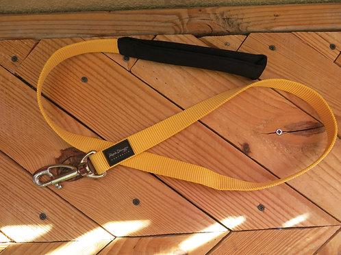 Yellow 3 foot lead leash