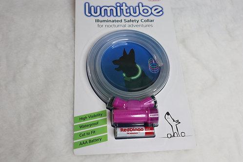 """Purple Illuminated Safety Collar 0-32"""" around"""