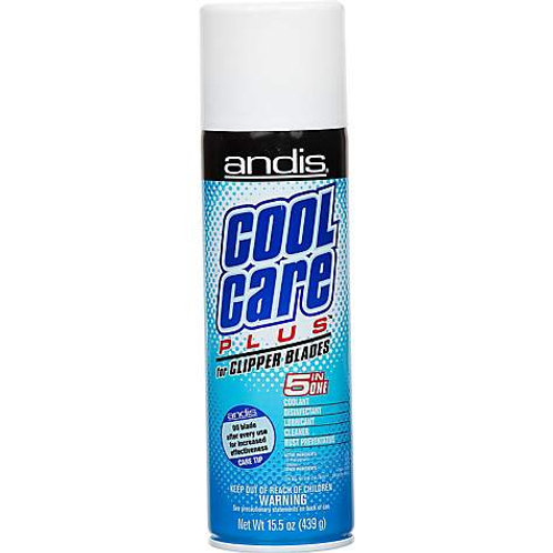 Andis Cool Care Plus for Clipper Blades, 15.5-oz can disinfectant