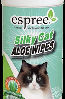 Silky Cat Aloe Wipes