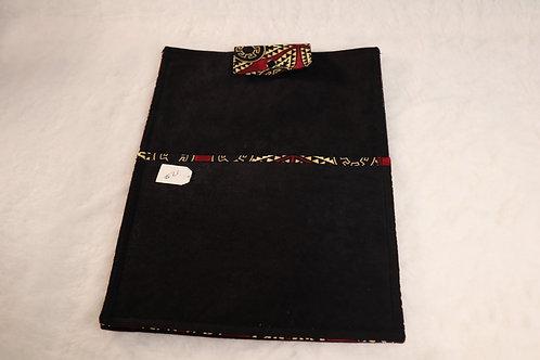 Large Black Aztec Tablet Case
