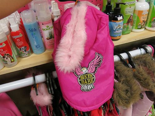 Pink Biker Coat