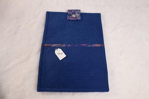 Small Blue Tye Tablet Case