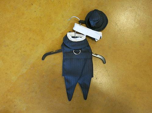 XXS Pin Stripe Tuxedo Set