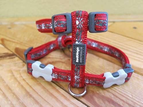 15mm Medium Harness Roses and Crossbones -dd