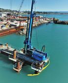 Napier Port 6 Wharf - HEB Construction 2