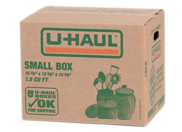 Small Uhaul Boxes