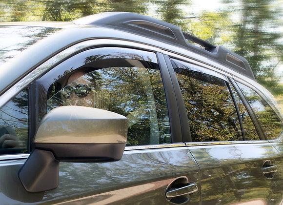 Side Window Deflectors Front & Rear