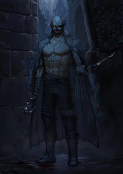 Corwain the vengeful ghost.