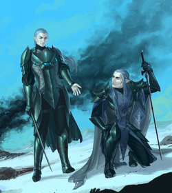 Henhireth and Amarandol