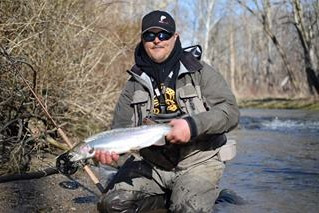 High and low water steelhead