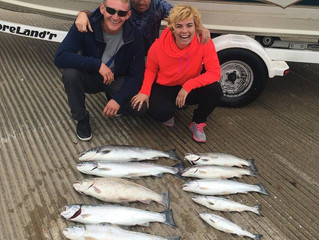 Outstanding two days of charters