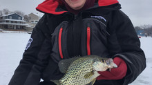 Fun time chasing panfish