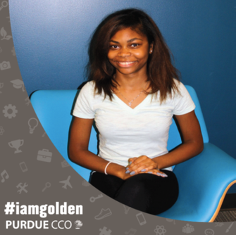#IAMGOLDEN Student feature: Danielle Rivers