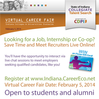 How to get a job without leaving the couch: virtual career fairs