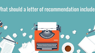 How to obtain a great letter of recommendation