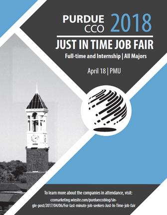 For last minute job seekers: Just In Time job fair
