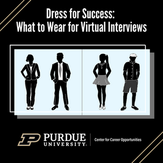 Dress for Success: What to Wear for Virtual Interviews