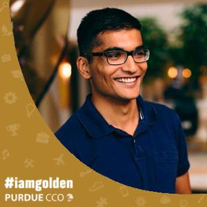 #IAMGOLDEN Student feature: Rahul Patni