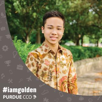 #IAMGOLDEN Student feature: Sebastian Kenny