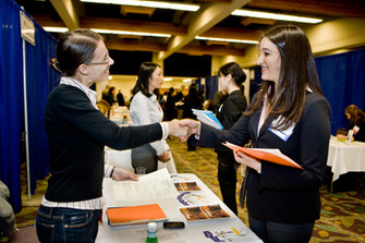 Career fairs: the freshman year perspective