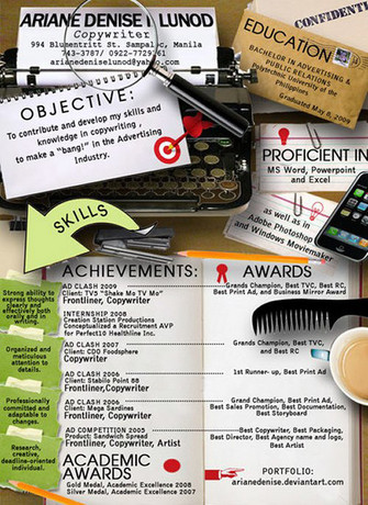 Tips for designing your resume