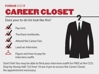 Career Closet to the Rescue!