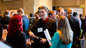 Navigating a career fair & what to do after