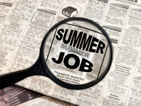 How to market your summer job