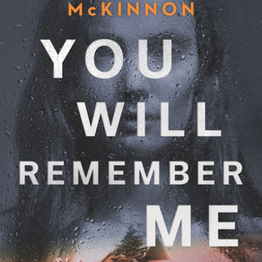 BLOG TOUR - You Will Remember Me