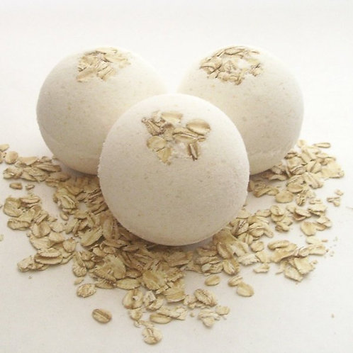 Oatmeal Buttercream Bath Bomb