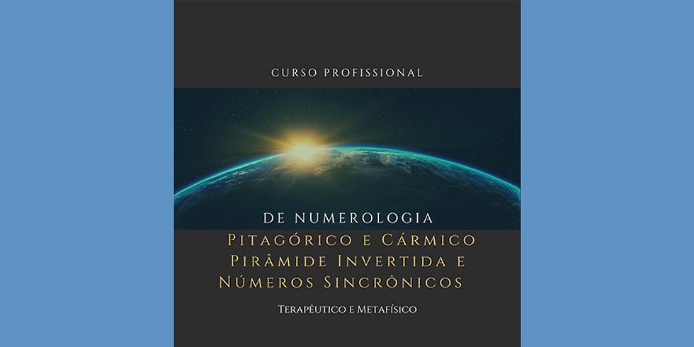 Curso Profissional Pitagórico e Cármico  Pirâmide Invertida e Números Sincrônicos - Terapêutico e Metafísico