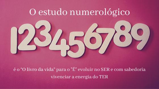 """Numerologia   """"O livro da vida"""" para o """"É"""" evoluir no SER e com sabedoria vivenciar a energia do TER"""