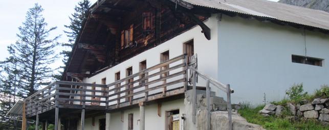 Rénovation d'un alpage _ Les Mosses