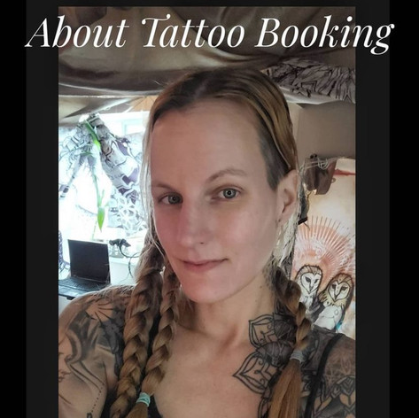 """""""Thank you for being interested in a tattoo with me. I am only taking new projects through original designs shown in our monthly newsletter and Trust Tattoos. The designs come out on the 1st of each month at midnight, and the application closes at noon that day.  *Each design is only ever tattooed once. Each is drawn from the heart, has a specific meaning/significance, and finds its perfect home. I encourage you to please follow our newsletters (sign up on the website) and I hope one of the designs calls to you.  I also offer a 'Trust Tattoo' each month, also through the newsletter. It is a tattoo I draw after a consultation, but the client doesn't see the result until the end of of tattoo session.  If you'd like something custom for your next tattoo, I highly recommend all of the other artists at Rainfire Tattoo. We have such a heartfelt amazing team of incredible artists."""